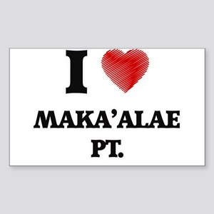 I love Maka'Alae Pt. Hawaii Sticker