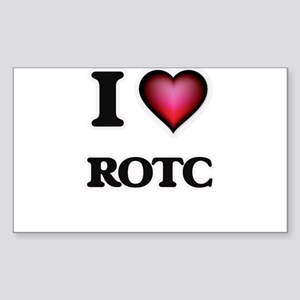 I Love Rotc Sticker