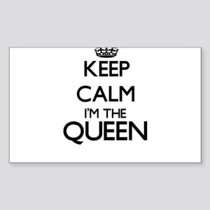Keep calm I'm the Queen Sticker