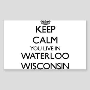 Waterloo Wisconsin Stickers - CafePress