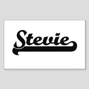Stevie Classic Retro Name Design Sticker