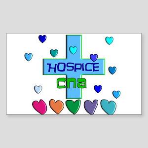 Hospice Cna Rectangle Stickers - CafePress