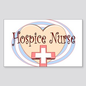 Hospice II Rectangle Sticker