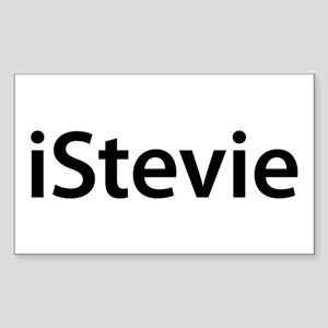 iStevie Rectangle Sticker