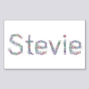 Stevie Paper Clips Rectangle Sticker