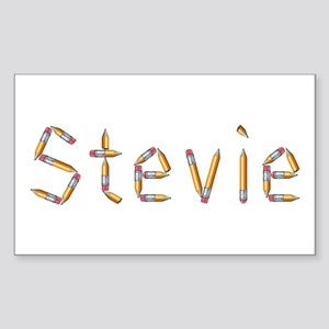 Stevie Pencils Rectangle Sticker