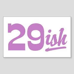 Funny 30th Birthday Rectangle Sticker