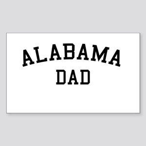 Alabama Dad Rectangle Sticker