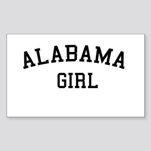 Alabama Girl Rectangle Sticker