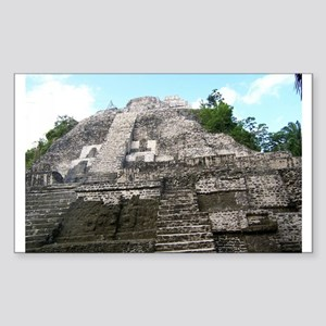 "Ancient Mayan Ruins ""Lumanai"" in Belize Sticker"
