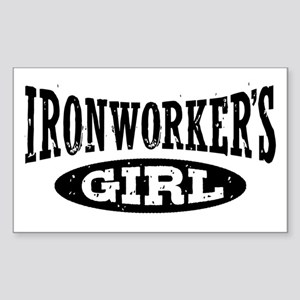 Ironworker's Girl Sticker (Rectangle)