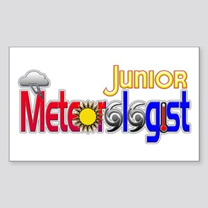 Junior Meteorologist Rectangle Sticker