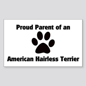 American Hairless Terr Rectangle Sticker