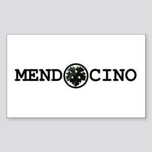 Mendocino Rectangle Sticker