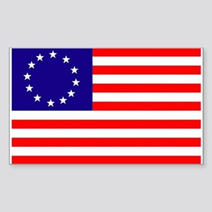 84780ad05 Betsy Ross Flag Rectangle Sticker