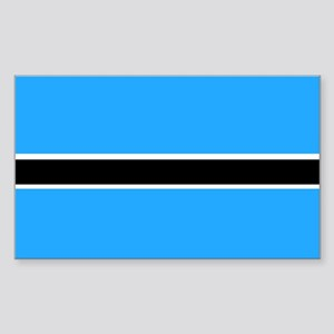 Botswana Rectangle Sticker