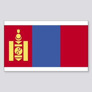 Mongolia Rectangle Sticker