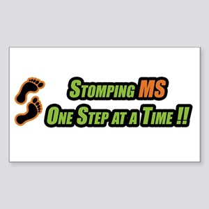 Stomping MS One Step at a Time Sticker