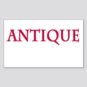 Antique Sticker (Rectangle)