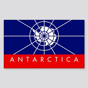 Antarctica Rectangle Sticker