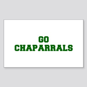 Chaparrals-Fre dgreen Sticker