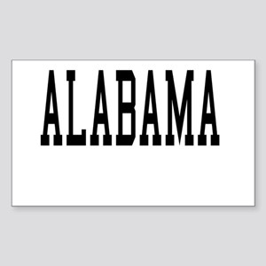 Alabama Rectangle Sticker