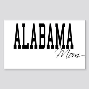 Alabama Mom Rectangle Sticker