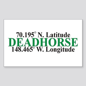DeadHorse Rectangle Sticker