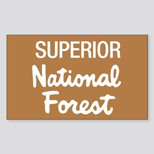 Superior (Sign) National Fore Sticker (Rectangular
