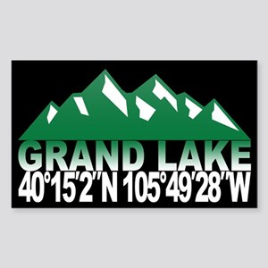 Grand Lake Sticker (Rectangle)