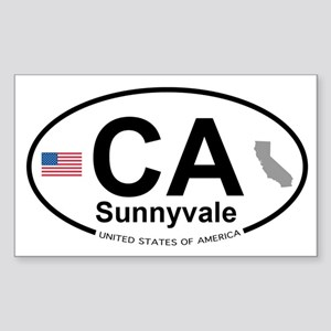Sunnyvale Sticker (Rectangle)