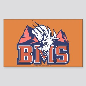 Blue Mountain State Sticker (Rectangle)
