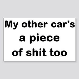 My Other Car Is A Chocobo Bumper Stickers - CafePress