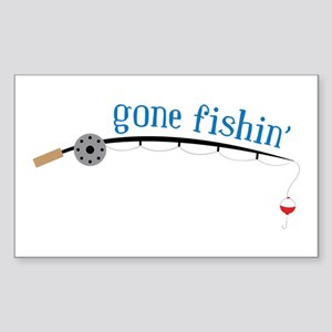 Gone Fishing Sticker