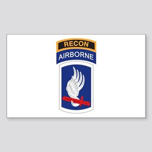 173rd ABN with Recon Tab Rectangle Sticker