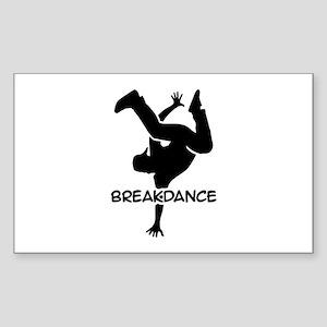 Breakdance Sticker (Rectangle)