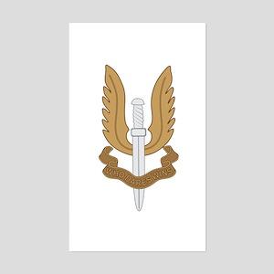 British SAS Sticker (Rectangle)