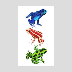 Dart Frogs Sticker