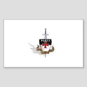 Knights Templar Logo Sticker