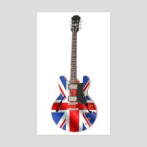 BRITISH INVASION Rectangle Sticker