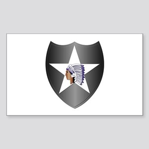 SSI - 2nd Infantry Division Sticker (Rectangle)