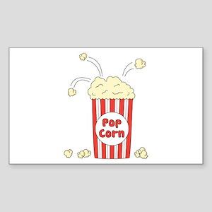 Pop Corn Sticker