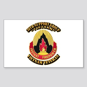 38th Support Group Sticker (Rectangle)