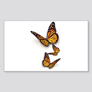 Monarch Butterlie Sticker