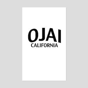 Ojai California Sticker (Rectangle)
