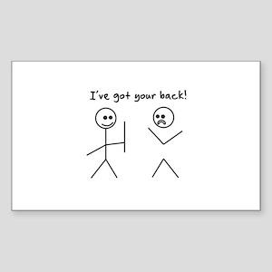 I've Got You Back Sticker