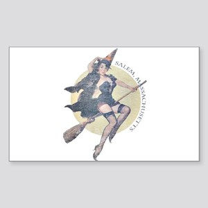 Vintage Salem Witch Sticker