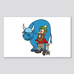 babe the blue ox stickers