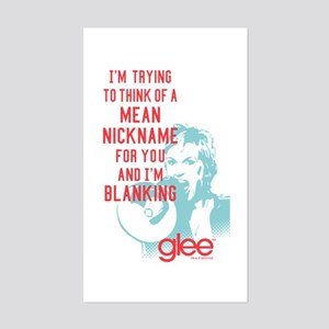 Glee Sue Mean Nickname Sticker (Rectangle)