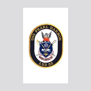 USS Pearl Harbor LSD 52 Rectangle Sticker